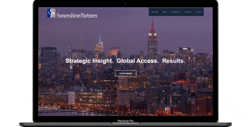 Investment Bank Web Design - Digimix Web Design New York