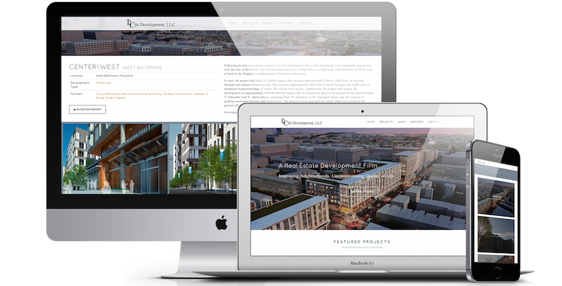 Real Estate Development Company Web Design Digimix Web Design New York