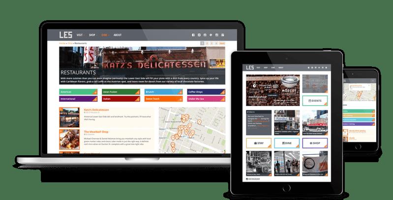 Wordpress Nyc Travel Guide Business Directory Digimix Web Design New York