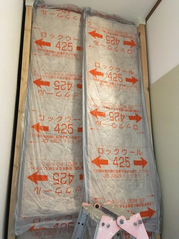 防音壁 ロックウール 断熱材 遮音シート OSB合板 コンパネ