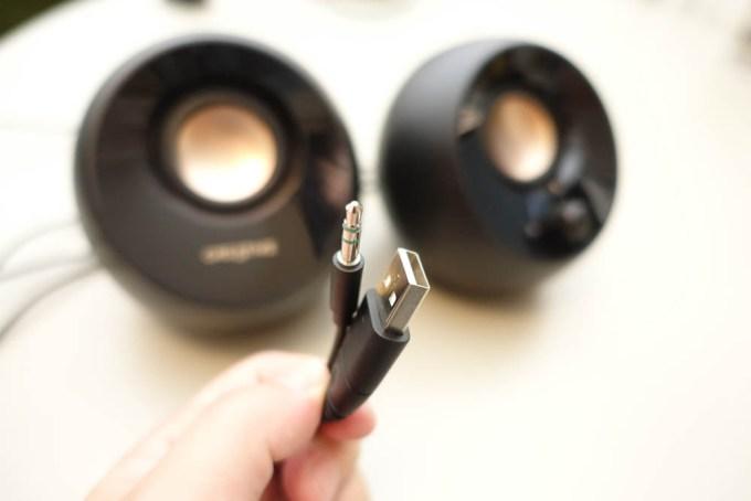 PC用 アクティブ スピーカー USB