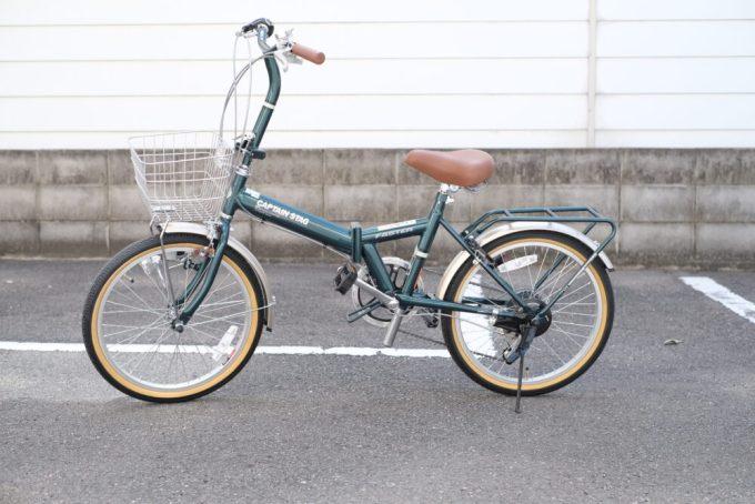 キャプテンスタッグ 折り畳み自転車 サイクリング おしゃれ