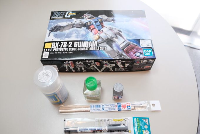 ガンプラ プラモデル rx-78-2 gundam タミヤ プラモ