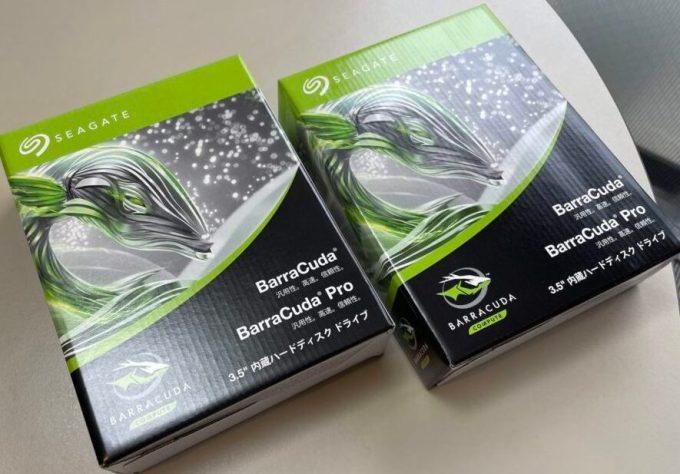SEAGATE 4TB 3.5インチ内臓HDD