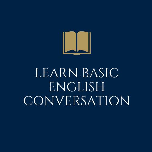 Learn Basic English Conversation - DigiNo