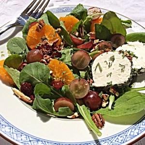 Orange and Chevre Sunshine Salad