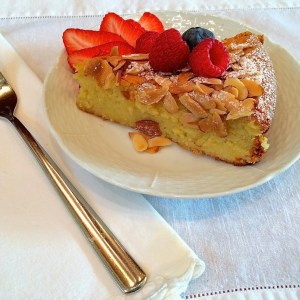 "Lemon Almond ""Cake"""