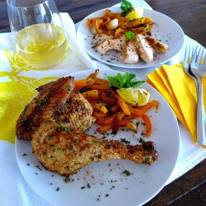 Simply Roasted Chicken