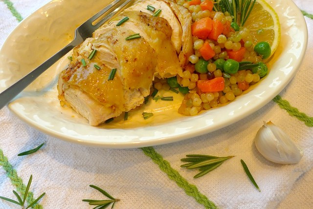 Braised Chicken with Rosemary