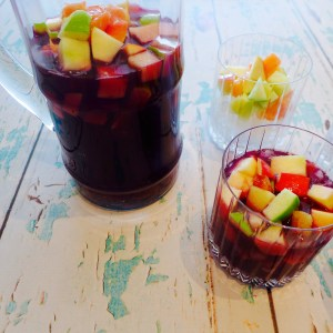 Ruby Red Sangria