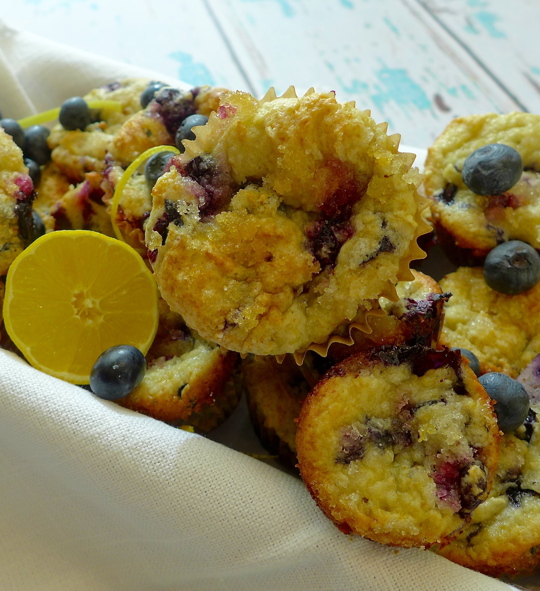 Dig in to the very best blueberry muffins and discover new ways to adapt this easy recipe to your own taste.
