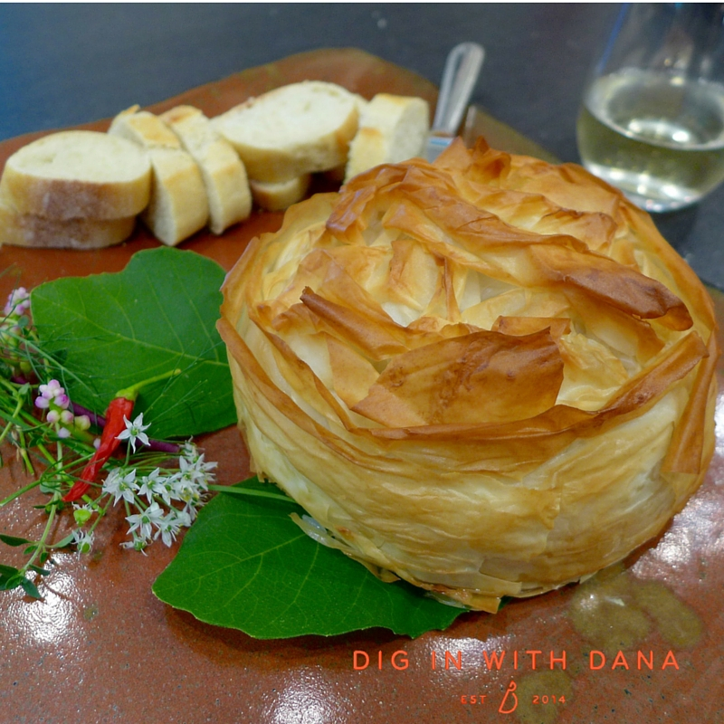 Baked Brie with Walnuts and Dried Cranberries recipe and ideas at diginwithdana.com