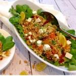 Easy to make Lemon Basil Quinoa Pilaf