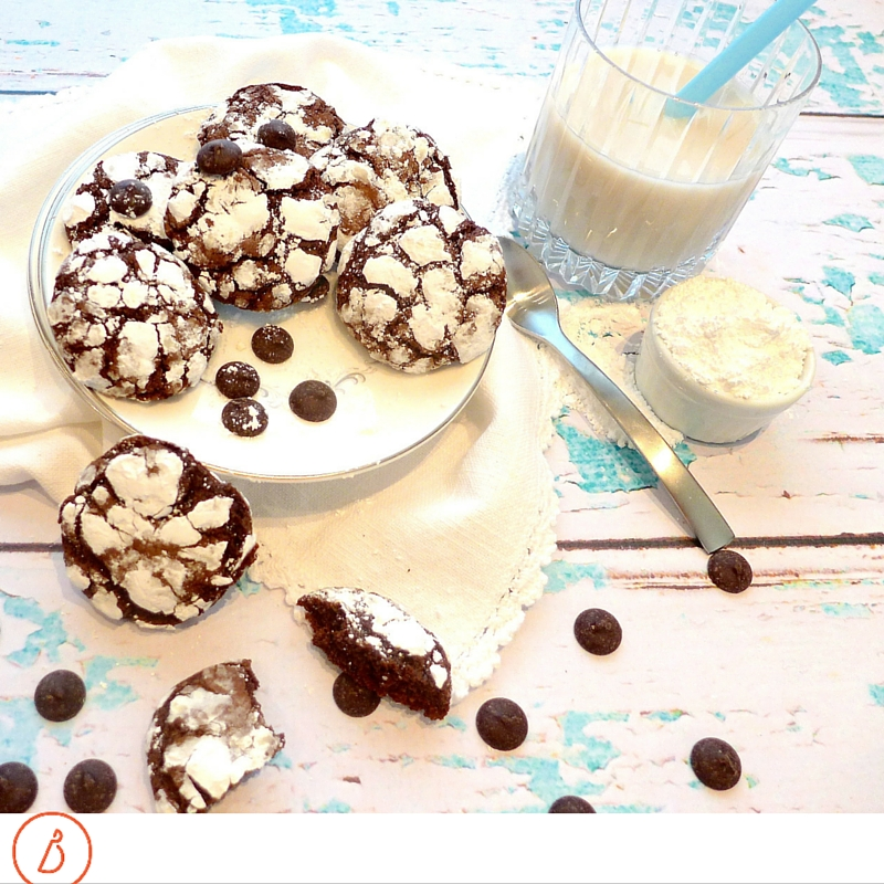 Dig in to chocolate chewies. Recipe and variations at diginwithdana.com