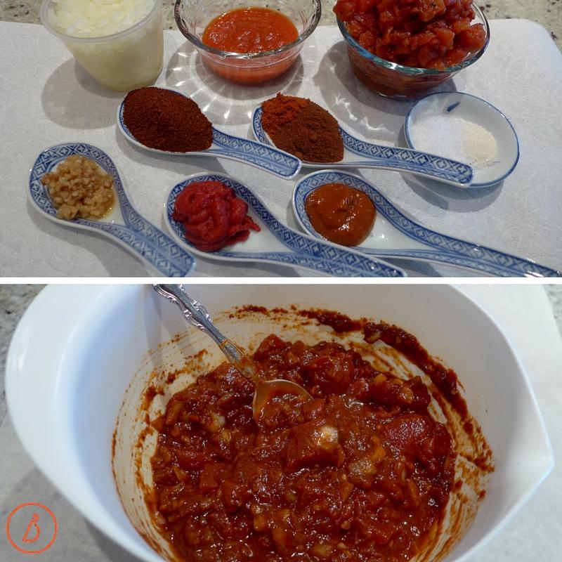 Get set up to make the sauce.
