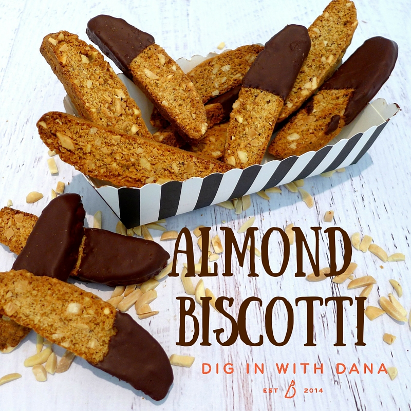 Almond Biscotti is a foolproof recipe with room for variations. Deliciously crunchy, Portable, versatile, long lasting biscotti, is there anything better?