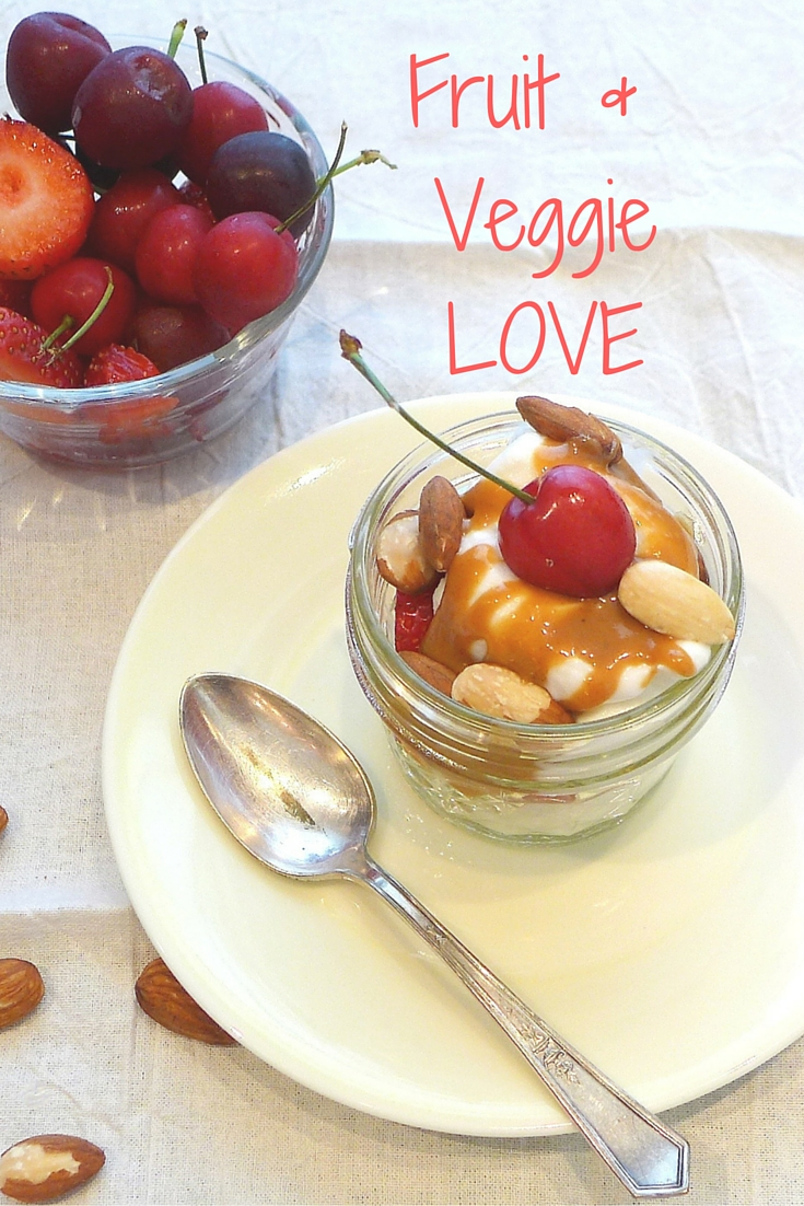 My weekday eating style is all about Fruit and Veggie Love.