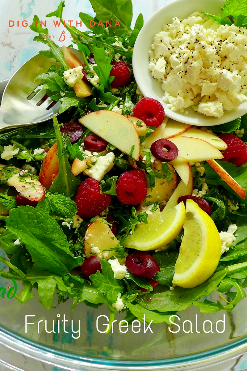 Fruity Greek Salad