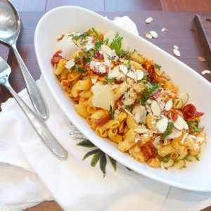 Slow Roasted Cherry Tomato Pasta