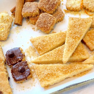 Simple Crunchy Shortbread