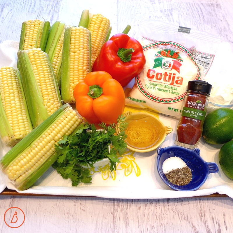 All you need to make Mexican Corn Salad. recipe and helpful photos at diginwithdana.com