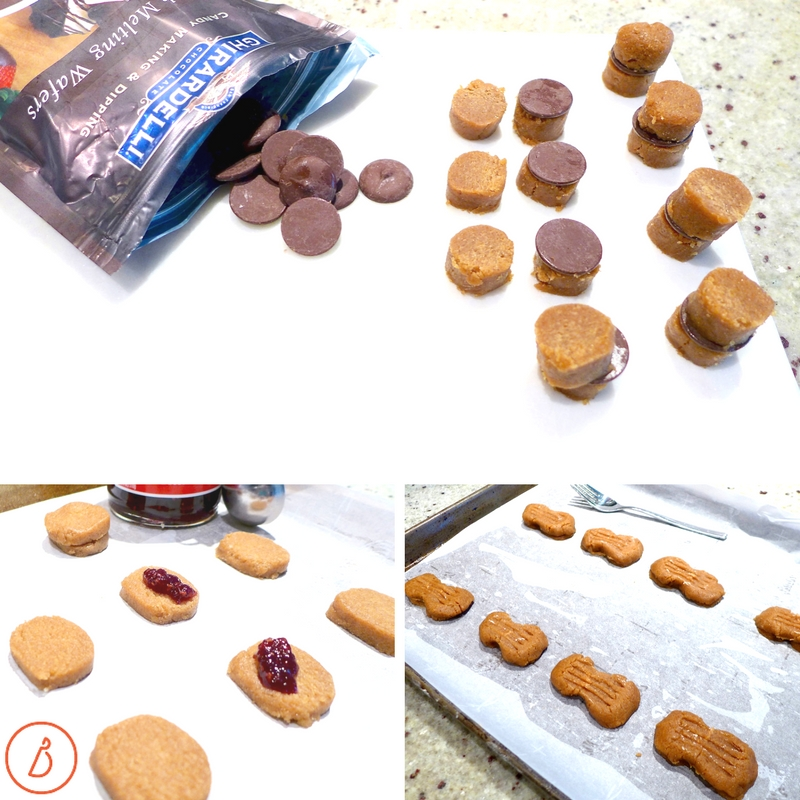 Nutty Butter Sandwich variations. Recipe and photos at diginwithdana.com