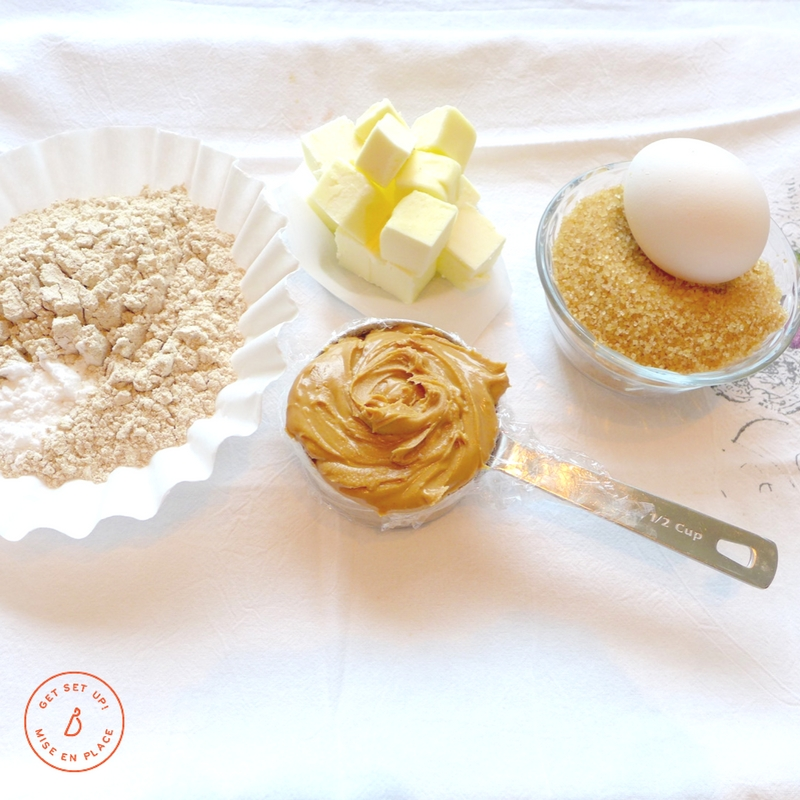 Simple ingredients make these simply irrisistible Nutty Butter Sandwich cookies. Recipe and ideas at diginwithdana.com