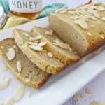 Almond Flour and Honey Sandwich Bread recipe and ideas at diginwithdana.com
