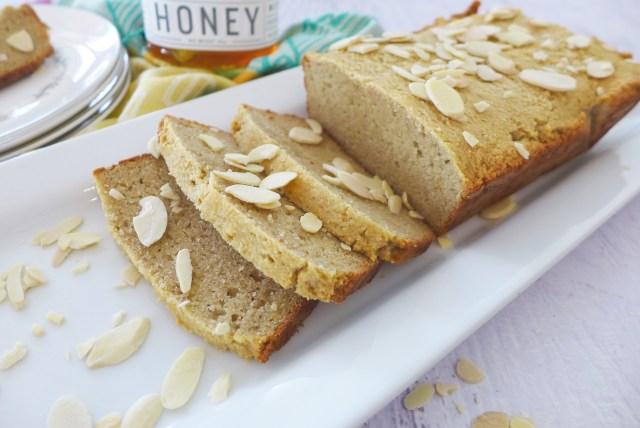 Almond Flour and Honey Sandwich Bread