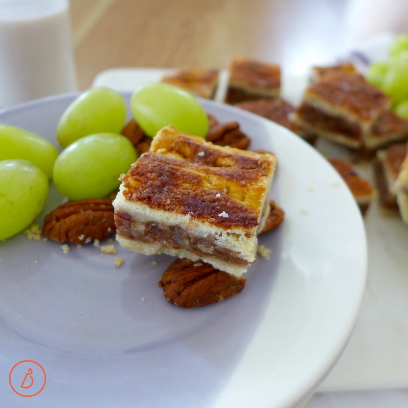 The perfect date! Donia's Cinnamon Date Bars and diginwithdana.com