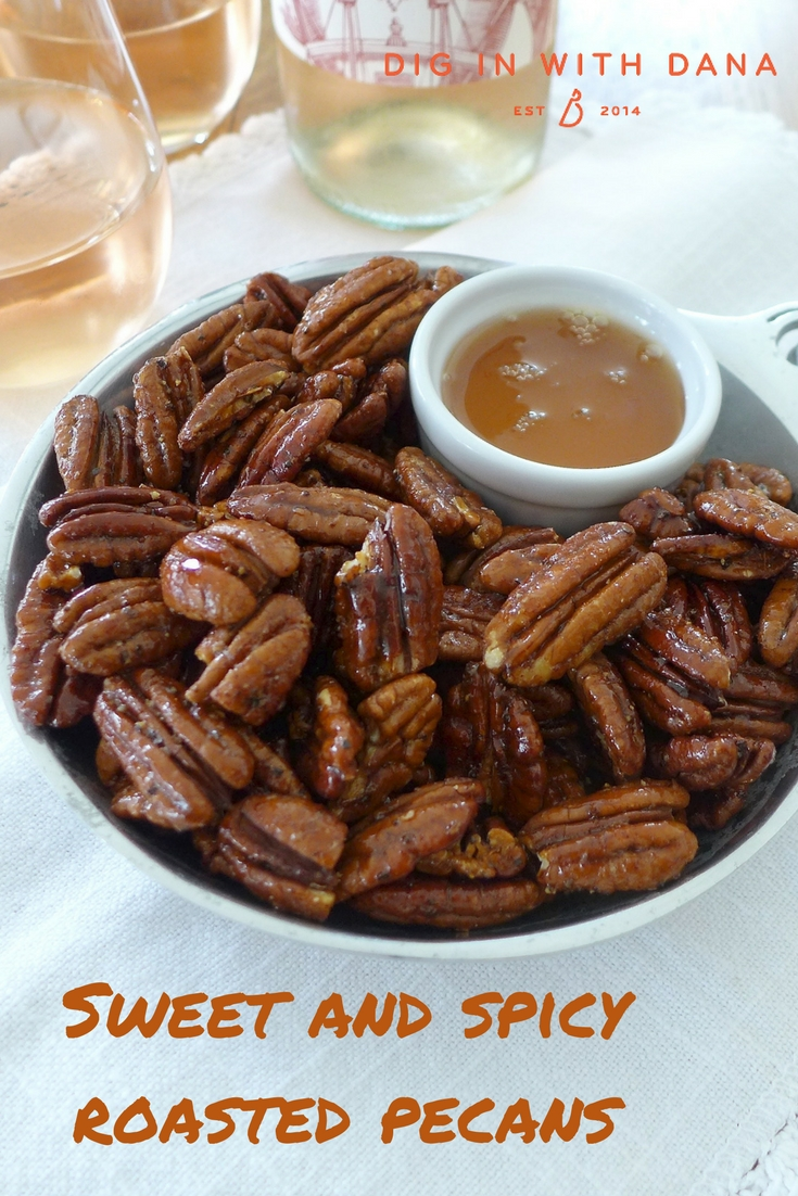 Sweet and spicy roasted pecans recipes and ideas at diginwithdana.com