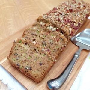 Zucchini Pecan Quick Bread