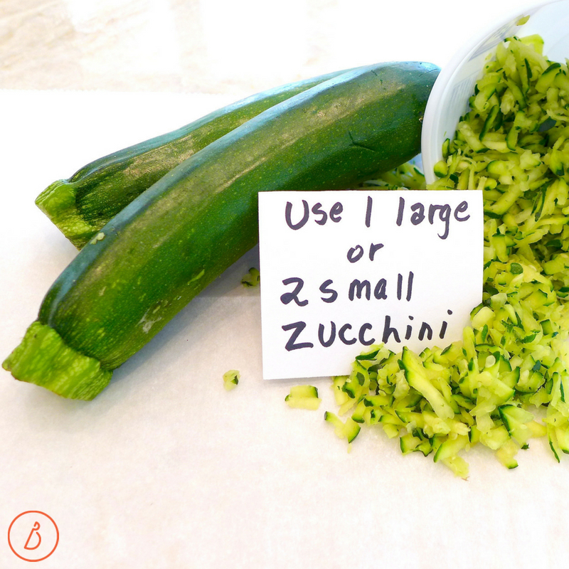 Shredded zucchini makes the best cake! Zucchini Pecan Quick Bread recipe and variations at diginwithdana.com