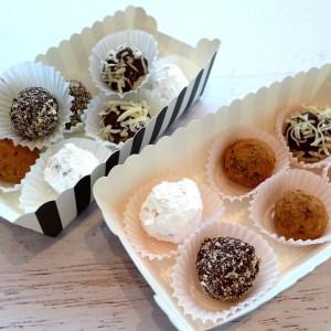 Dark Chocolate Truffles at diginwithdana.com