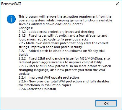 download wat remover for windows 7 ultimate free