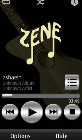 Zene Music Player
