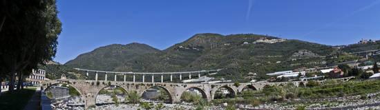 Il ponte romano di Taggia