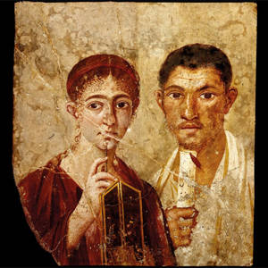 Terenzio Neo e sua moglie.