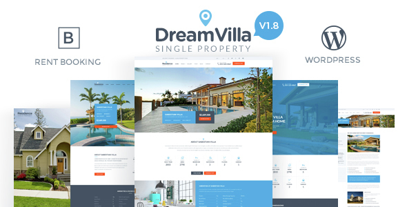 Dreamvilla - Real Estate WordPress Themes
