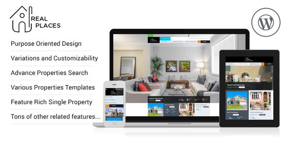 Real places - Real Estate WordPress Theme