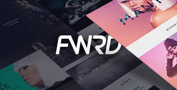 FWRD - WordPress Entertainment Themes