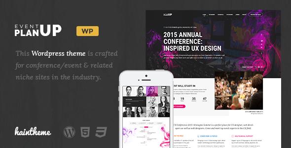 planup - WordPress Entertainment Themes