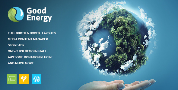 goodenergy - environment themes