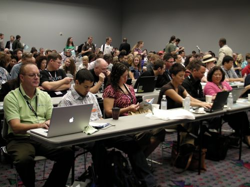 Blogworld audience2