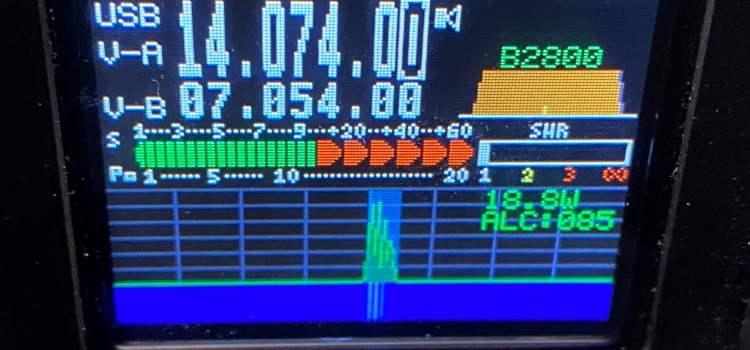 Multiple Simultaneous FT8 QSOs using a Single Radio