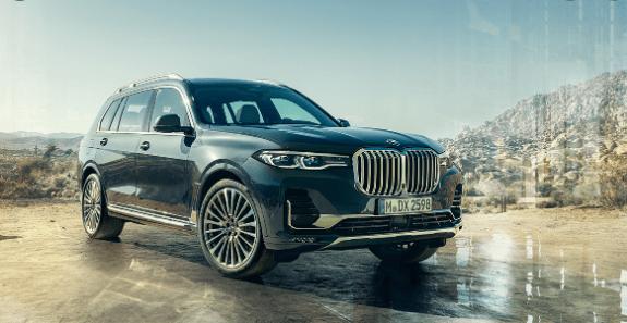 BMW X7 Dark Shadow Edition Teased For India
