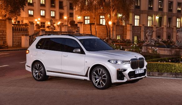 BMW X7 M50d 'Dark Shadow' Edition Launched