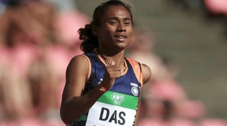 Sprinter Hima Das Suffers Muscle Pull