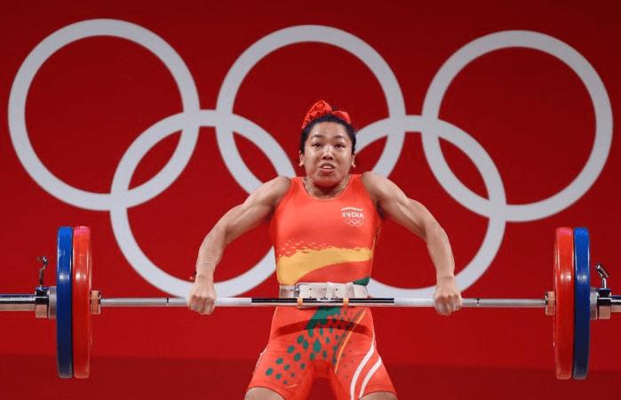 Mirabai Chanu Wins India's 1st Medal