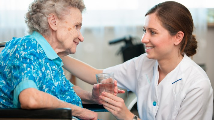 Healthcare Company Care Sourcer Looking Healthy